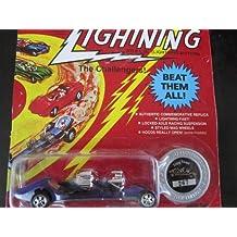 Triple Threat (purple) Series Seattle Toy Fair 1996 Johnny Lightning Commemorative Limited Edition
