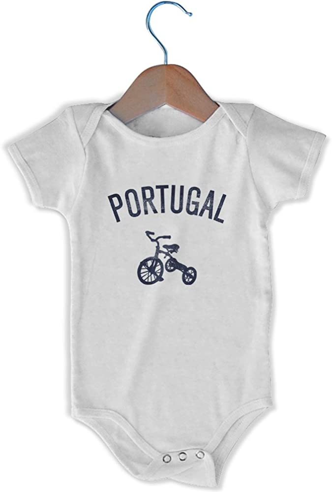 MILE-END SPORTSWEAR Portugal Ciudad triciclo infantil Onesie