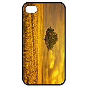 Create For Iphone 4 Cover Cases Gold Landscape Custom Your Own Phone Covers For Iphone 4s