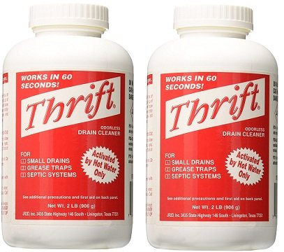THRIFT MARKETING GIDDS-TY-0400879 Drain Cleaner 2 lb (2-Pack)