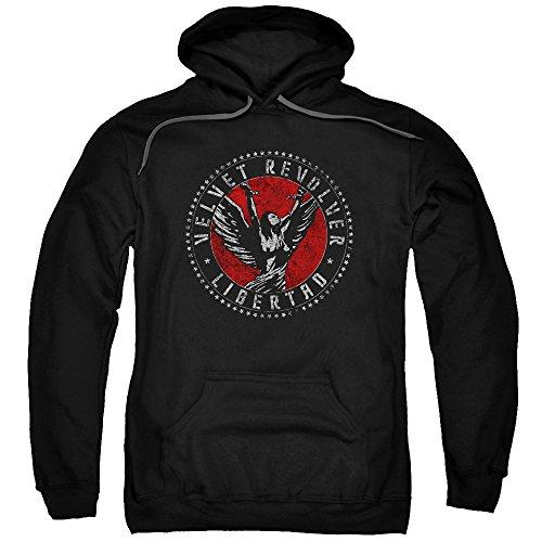 Hoodie: Velvet Revolver - Circle Logo Pullover Hoodie Size M