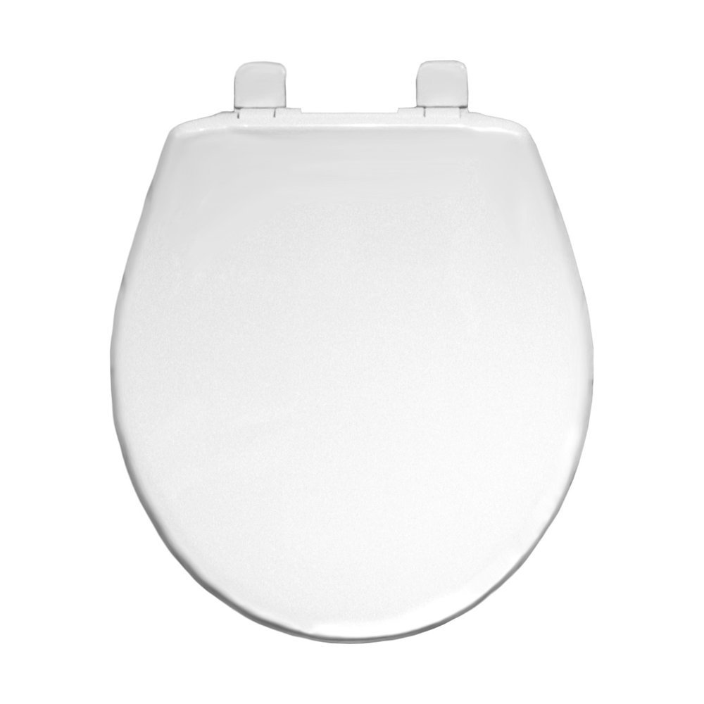 Bemis 730sl 000 Hospitality Round Closed Front Plastic Toilet Seat With Whisper Close Hinges White Amazon In Home Improvement