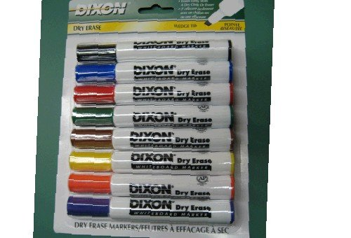 Beka 92180 Dixon Whiteboard Markers - 8 Color Set   B003VKMMRK