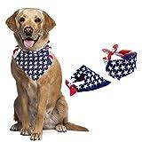 JAYSLE Dog Bandana,American flag Bandana Pet Dog