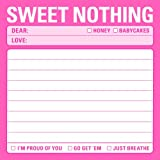 Knock Knock Sticky Notes Sweet Nothing (Pack of 4)