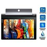 Lenovo Yoga tab 3 10 screen protector, KuGi ® Ultra-thin 9H Hardness High Quality HD clear Premium Tempered Glass Screen Protector for Lenovo Yoga tablet 3 10.1 tablet (1 pcs)