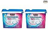 Kirkland Signature Premium Dishwasher Detergent Pacs: Lemon Citrus Scent - 2 Count (230 Pacs) + Bonus Gift