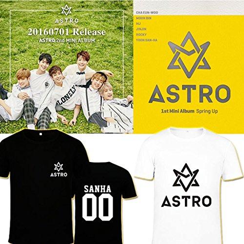 KPOP Astro New Album Summer Vibes T-Shirt Sanha MJ Rocky