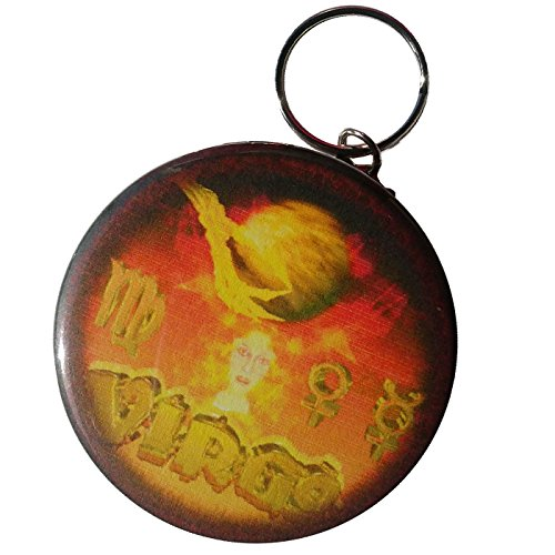 Gothic Virgo   8 23 To 9 22 Earth Sign Key Chain