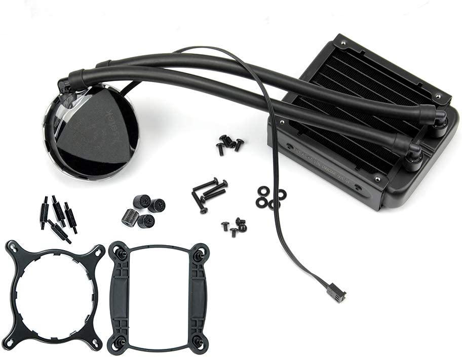 Asetek 645LT 92mm SFF AIO Liquid Cooler Plus Intel 115X Retention Kit
