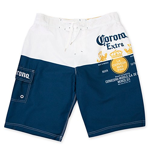 (Corona Extra Label Mens Swim Board)