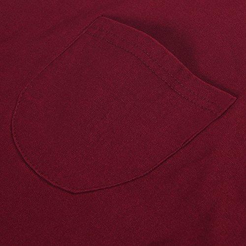 Confort Pantalon Bureau Taille Manner Bold Femme Denim Slim Pants Elastique Crayon Printemps Mode Jeans Haute Legging Collant Uni Longue Casual Rouge Fille ATAx4qXHw