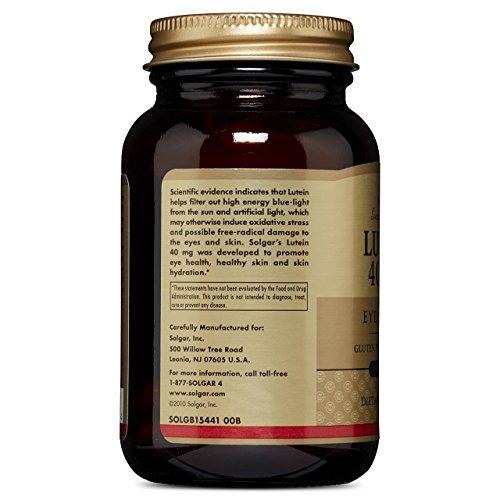 Solgar Lutein 40 mg, 30 Softgels by Solgar (Image #3)