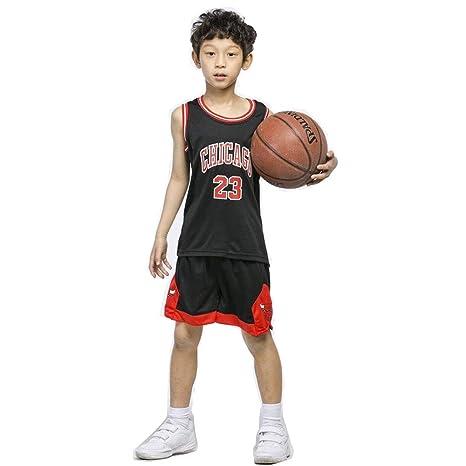 Camiseta de baloncesto para niños - NBA Bulls Jordan #23 / Lakers ...