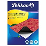 Pelikan Interplastic 1022G 100Sheets A4 - Carbon Paper (Black)