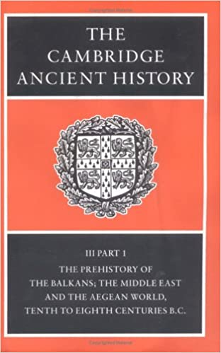 Amazon the cambridge ancient history vol 3 part 1 the the cambridge ancient history vol 3 part 1 the prehistory of the balkans and the middle east 2ndrevised enlarged edition fandeluxe Gallery
