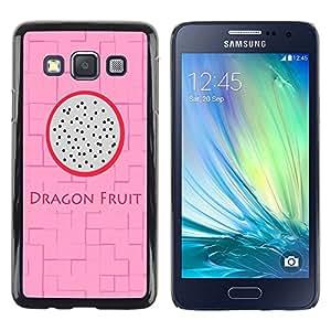 Dragon Case - FOR Samsung Galaxy A3 - I'm just tired - Caja protectora de pl??stico duro de la cubierta Dise?¡Ào Slim Fit