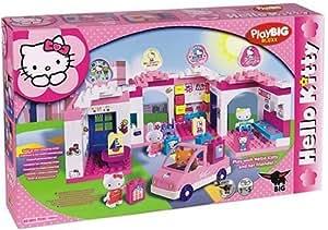 BIG PlayBIG Bloxx Hello Kitty 800057020 - Centro comercial con accesorios [importado de Alemania]