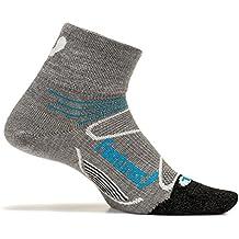 Feetures! - Elite Merino+ Ultra Light - Quarter - Athletic Running Socks for Men and Women
