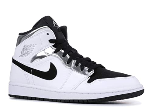 wholesale dealer 40b8e c625e Image Unavailable. Image not available for. Color  Nike Air Jordan 1 Mid  Mens 554724-121 Size 13