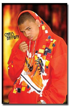 Chris Brown Rap Hip Hop R&B Music Icon Celebrity Poster Print 24 by - Brown Rb Chris