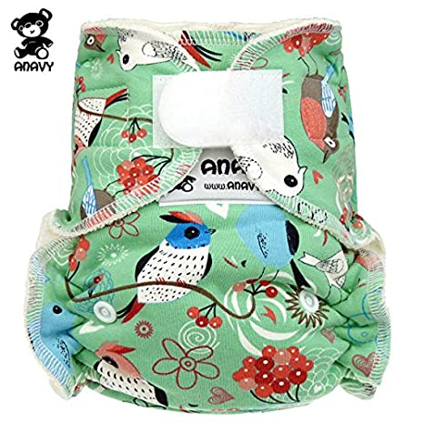 anavy höschen pañales – pájaros – One Size (3,5 ...