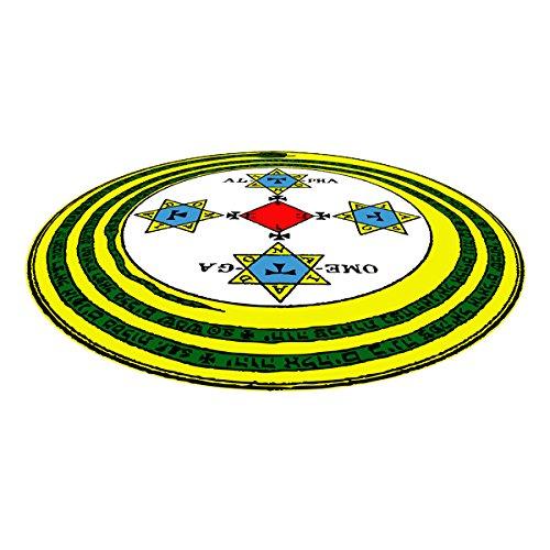 7.5' Mat (Goetic Magick Circle Ritual Mat 7.5 Feet in Diameter)