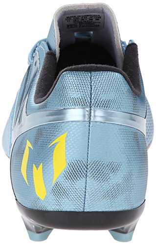 Adidas Performance Heren Messi 15.3 Fg / Ag Voetbalschoen Mat Ice Metallic F12 / Felgeel / Core Zwart