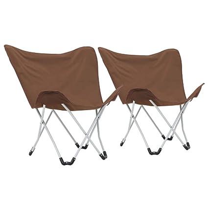 Tidyard 2xSillas Plegables para Playa Camping Caza Acampada ...