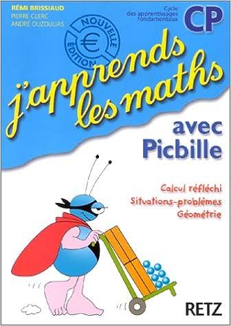 Livre J'apprends les maths avec Picbille CP : Fichier de l'élève pdf epub