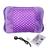 Electric Hot Water Bottle, Paciffico Massaging Heat / Bed Hand Warmer Rechargeable with Fluffy Cosy Co