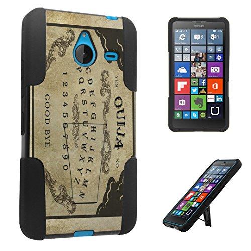 DuroCase ® Microsoft Lumia 640 XL (Released in 2015) Kickstand Bumper Case - (Ouija Board)