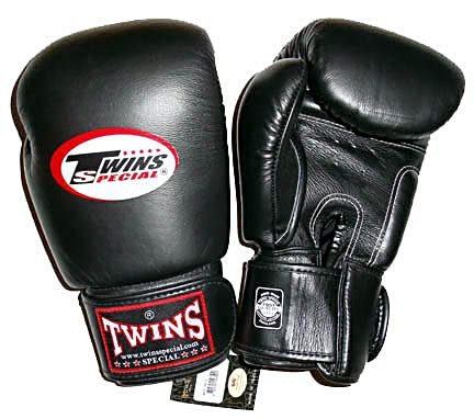 12 oz. Twins Sparring Gloves - Black
