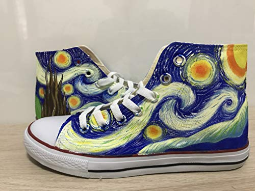 - Van Gogh Shoes Vincent van Gogh Custom Shoes For Men Painted Shoes Custom Chuck Taylors Men Women FREE SHPPING