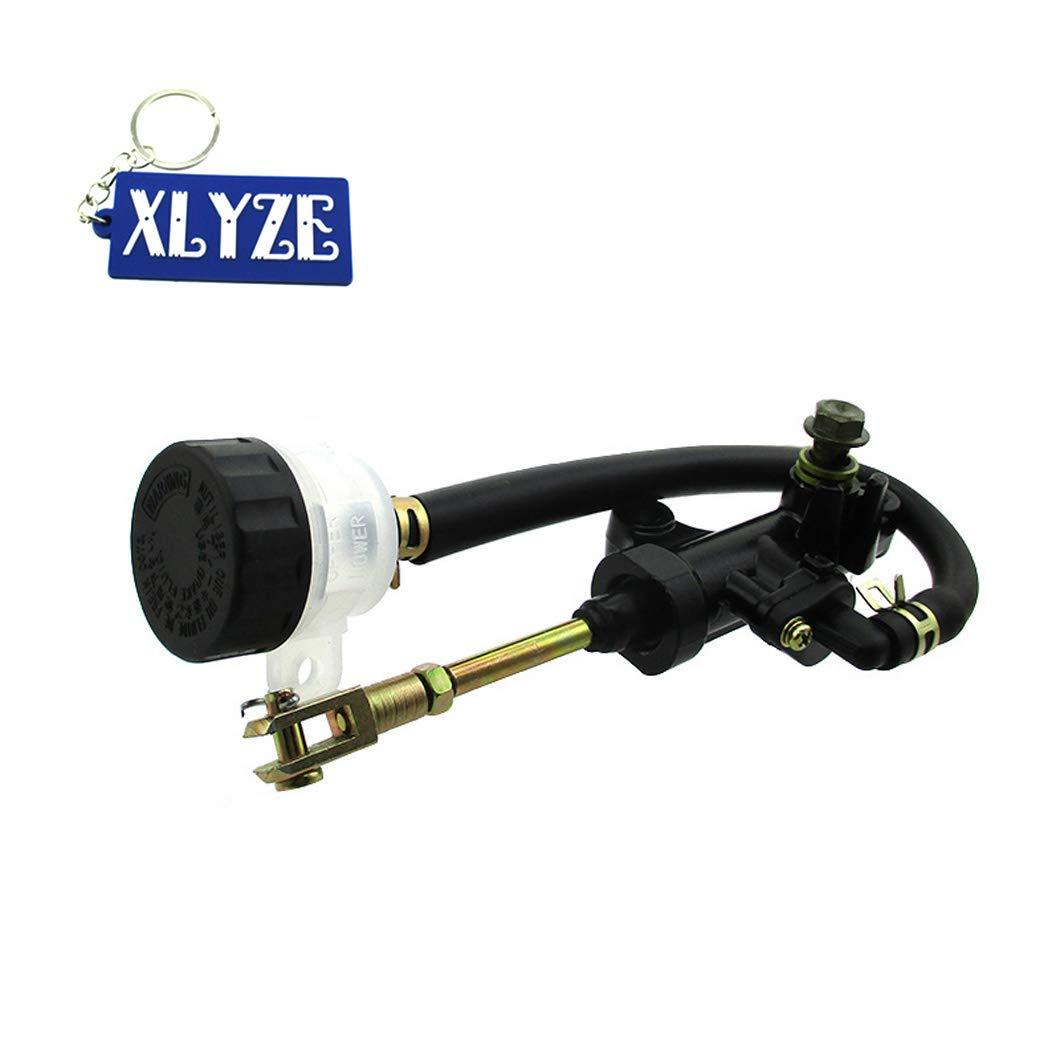 XLYZE Rear Brake Master Cylinder for Yamaha ATV 1988-2006 Banshee 350 YFM 350 YFM350 1987-2004 Warrior 350 2004-2013 Raptor 350