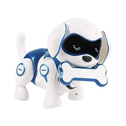 Cane robot giocattolo robot giocattolo wireless induttivo robot