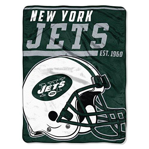 NFL New York Jets 40 Yard Dash Micro Raschel Throw, 46