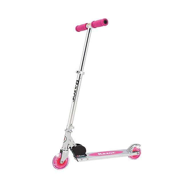 Amazon.com: Razor una rueda de Lighted Kick Patinete, color ...