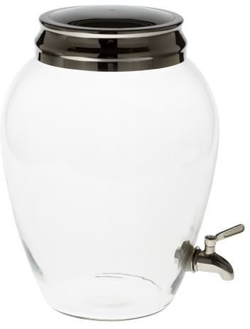 PB Classic Glass Drink Dispenser | Pottery Barn