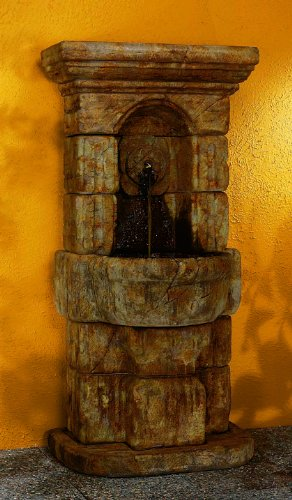 Henri Studios Fountains - Henri Studios-Linari Rosette Fountain-5227CF