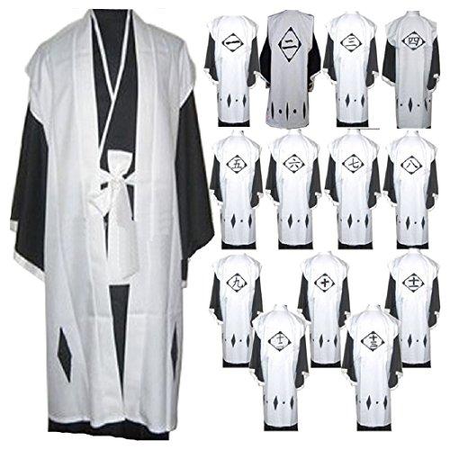 Bleach Captain 1-13 Kimono Cosplay Costume