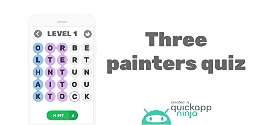 Amazon.com: Three painters quiz: Appstore for Android