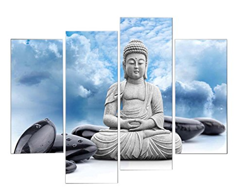 very-artistic-giclee-artwork-buddha-and-spa-stone-in-blue-sky-wall-art-painting-pictures-print-on-ca