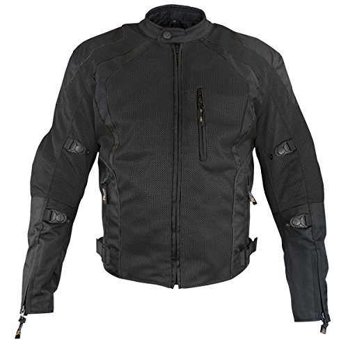 motorcycle vented jacket - 4