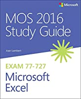 MOS 2016 Study Guide for Microsoft Excel Front Cover