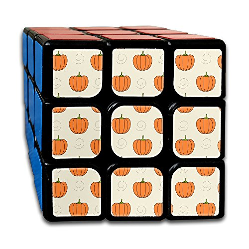 Pumpkin Patterns Printable (Magic Speed Cube: The Best Brain Training Game - Printable Pumpkin Pattern 3X3 Speed Cube Puzzle Smart Cube, Anti Stress For Anti-anxiety Adults Kids, Best Rubix Puzzle Toy)