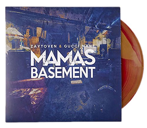Gucci Mane & Zaytoven - Mama's Basement LP Exclusive Color Swirl Vinyl (Selena Gomez 3. Album)