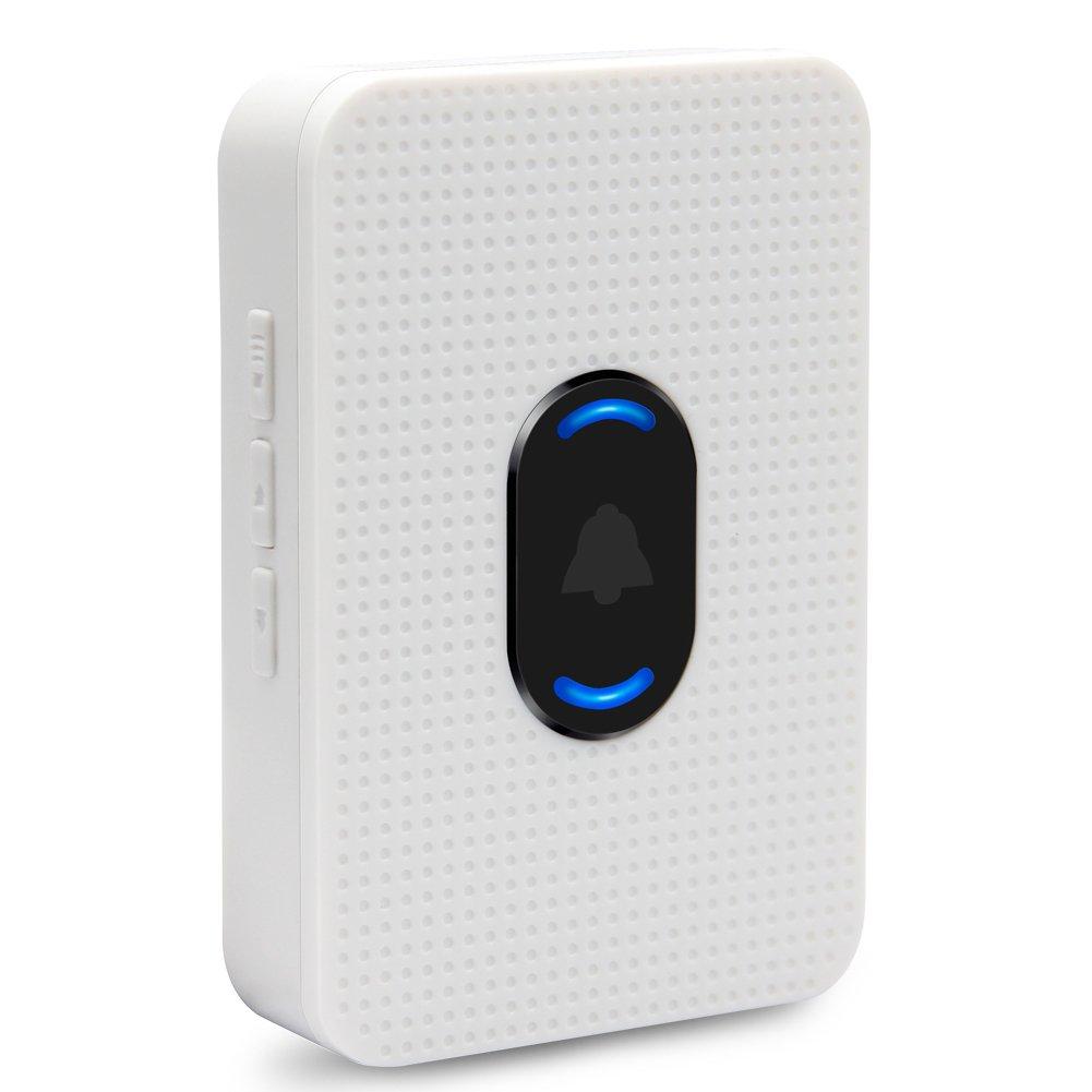 EKEN Wireless Doorbell Chime, Indoor Chime for EKEN Video doorbell, 5 Adjustable Volume Levels with 55 Ringtones