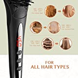 Hair Straightening Brush BearMoo Adjustable temperature Settings For All Types of Hair