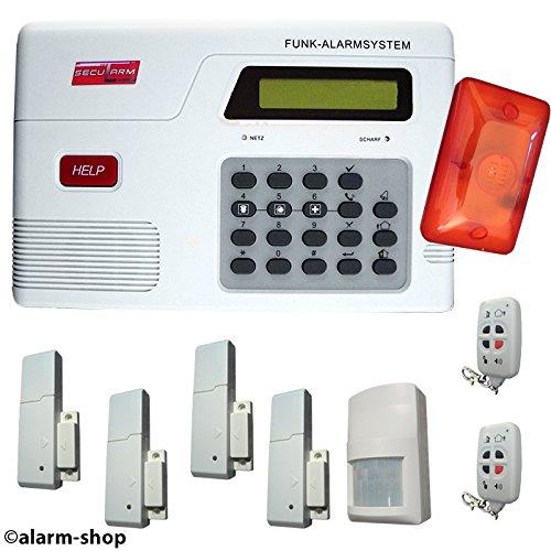 Inalámbrico de alarma GSM SAZ Secularm 2500 puerta contacto de su ...